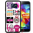 PERSONALIZED RUBBER CASE FOR SAMSUNG S8 S7 S6 S5 EDGE PLUS VOLLEYBALL COLLAGE