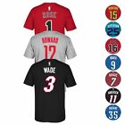 NBA Team Player Name & Number Jersey T-Shirt Collection by ADIDAS - Men's