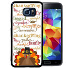 THANKSGIVING RUBBER CASE FOR SAMSUNG NOTE 8 5 4 3 TURKEY TEXT