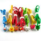 1M Cartoon LED Light Charger Data Sync USB Cable For Samsung S5 S6 HTC M8