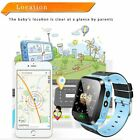 Anti Lost Smart Watch Tracker GPS Locator SOS for Android IOS iPhone X 8 7