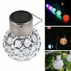 5x Solar 7-Color Changing LED Garden Hanging Light Lantern Ball Patio Waterproof