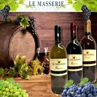 WEIN LE MASSERIE TAFELWEIN BIANCO ROSSO ROSATO WEISS ROT ROSE