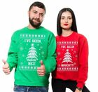 Ugly Christmas Sweater Couple Matching Sweatshirts Christmas Party Sweaters