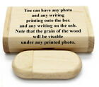 Personalised wooden usb and gift box, 16gb storage, Wedding memories present