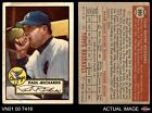 1952 Topps #305 Paul Richards White Sox FAIR