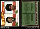 1975 Topps #210 Terry Metcalf / Otis Armstrong - All-P Cardinals / Broncos EX/MT
