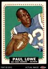 1964 Topps #165 Paul Lowe -  Chargers VG $6.5 USD
