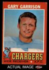 1971 Topps #172 Gary Garrison -  Chargers VG $0.99 USD