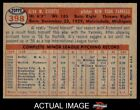 1957 Topps #398 Al Cicotte Yankees EX