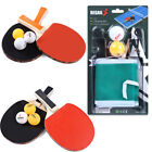Внешний вид - HOT!! REGAIL Table Tennis Ping Pong Racket Long Handle Bat Paddle Balls Net Set