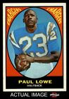 1967 Topps #121 Paul Lowe Chargers NM $23.0 USD on eBay