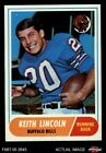 1968 Topps #19 Keith Lincoln Bills NM/MT $34.5 USD on eBay