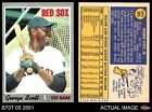 1970 Topps #385 George Scott Red Sox NM