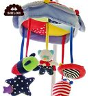 SHILOH Baby Crib Mobile Stroller Cosleeper Carseat Toy 60 Songs with Holder Arm
