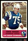 1962 Fleer #83 Ernie Wright Chargers EX/MT $22.5 USD