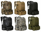 NEW 55L Molle Outdoor Military Tactical Bag Camping Hiking Trekking Backpack USA