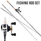 Casting Fishing Rod with Reel Combos Saltwater Freshwater Bass Fishing Tackles