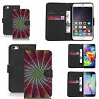 black pu leather wallet case cover for many Mobile phones - design ref zx1188