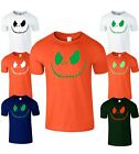 Halloween Smile JacK Mens T-Shirt Scary Face Ladies Top Fancy Party T Shirt