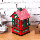 New Christmas Xmas Gift House Style Wooden Music Box Table Walnut Toy Zakka Doll