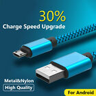 Hot 1-3M Micro USB Fast Charging Data Sync Cable cord For Samsung HTC LG Android