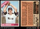 1966 O-Pee-Chee #135 Dave Morehead Red Sox VG