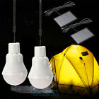 5x Portable Solar Power LED Bulb Lamp Outdoor Light Camp Tent Fishing Lights