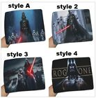 4 styles Star Wars Hot Mouse Pad Size Rubber Soft Anti-Slip Laptop $23.95 AUD on eBay