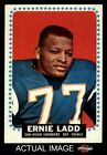 1964 Topps #163 Ernie Ladd Chargers Grambling 7 - NM $34.5 USD on eBay