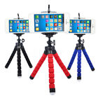 Mini Flexible Stand Tripod Mount + Free Holder For Smart Phone iPhone Flowery