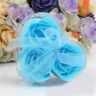 3pcs Artificial Rose Soap Heart-Shaped Valentine's Day Gifts Wedding Favor