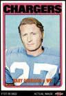 1972 Topps #192 Gary Garrison Chargers NM $6.75 USD on eBay