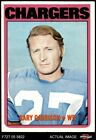 1972 Topps #192 Gary Garrison Chargers NM $6.0 USD on eBay