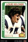 1978 Topps #360 Louie Kelcher Chargers EX $1.15 USD
