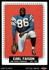 #157 Earl Faison Chargers VG $2.85 USD