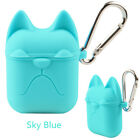 Silicone Shock Proof For AirPods Waterproof Case Cover Earphone Bulldog-NEW