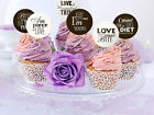 Sweet Love Cupcake Toppers