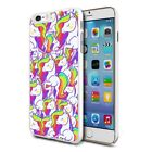For Various Phones Design Hard Back Case Cover Skin - Cute Unicorn 05