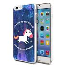 For Various Phones Design Hard Back Case Cover Skin - Cute Unicorn 07