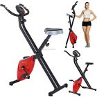 Folding Exercise Bike Home Cycling Magnetic Trainer Fitness Stationary Machine A