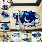 US Galaxy Planets 3D Planet Removable Wall Decal Vinyl Stick