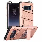 Fits Samsung Galaxy Note8 S8 + Military Grade Kickstand Rugged Armor Case Cover