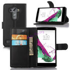 For LG G4 Beat/Vigor G4s Luxury Leather Flip Card Slot  Wallet Stand Case Cover
