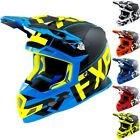 FXR Racing S18 Boost Clutch Mens Sled Winter DOT Snowmobile Helmets