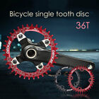 Bicycle Mountain Bike Single Tooth Speed Chainring Sprockets 36T Disk 104BCD
