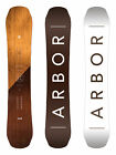 Arbor Snowboard - Coda Rocker - All Mountain, Wooden Topsheet - 2018