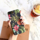 Plants Pineapple Leaf Phone Case For iphone 7 6S 8 Plus Oil painting Back Cover