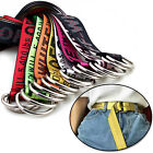 8 Colors Off Unisex Belt Tie Down Nylon 130 * 3.8cm Big Head Industrial Belt POP