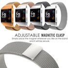 Luxury Milanese Loop Mesh Strap for Fitbit Ionic Stainless Metal Wrist Band L/S